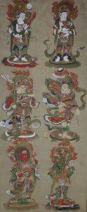 海向寺 十二善神像(左)