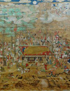 妙法寺 釈迦涅槃図