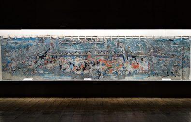 コラム更新「藩主酒井侯の領地安堵を祝った巨大絵幕」