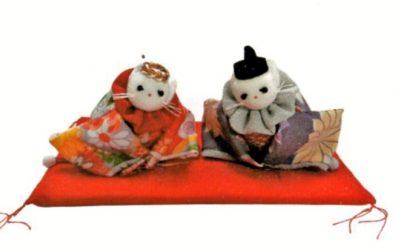 【参加者募集】ワークショップ「猫のお雛様」づくり