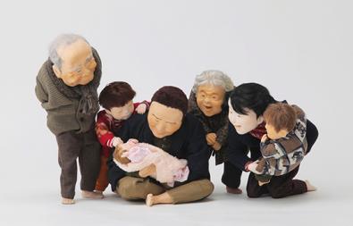 ぬくもりと懐かしさにふれる 大滝博子 創作人形展