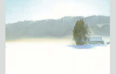 特別展 あべとしゆき水彩画展 静けさを聴くために
