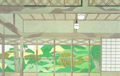 コラム更新「鶴舞園と清遠閣を描いた作品」
