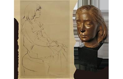 特別展 彫刻と版画展-船越保武と佐藤忠良を中心に-