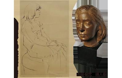 特別展 彫刻と版画展-舟越保武と佐藤忠良を中心に-
