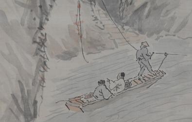 コラム更新「郷土の画人・菅原白龍 -日本的な南画の確立に努めた画家-」