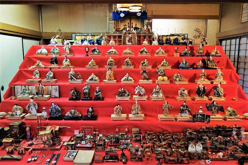 【清遠閣会場】子どもたちの成長を祝う 本間美術館のひな祭り